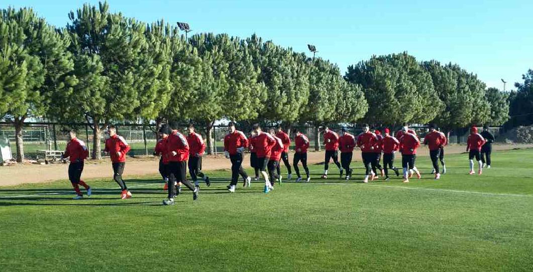 Prvi trening u Antaliji 2