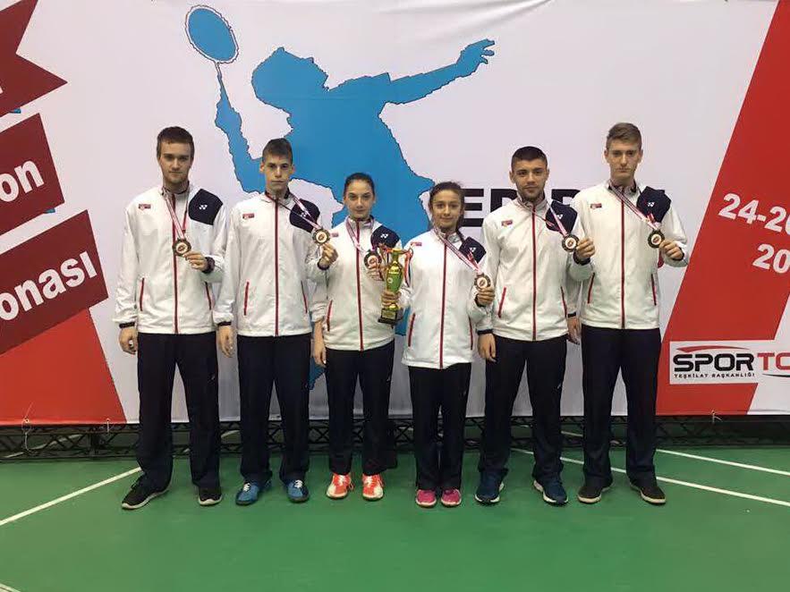 Badminton Bronzana reprezentacija