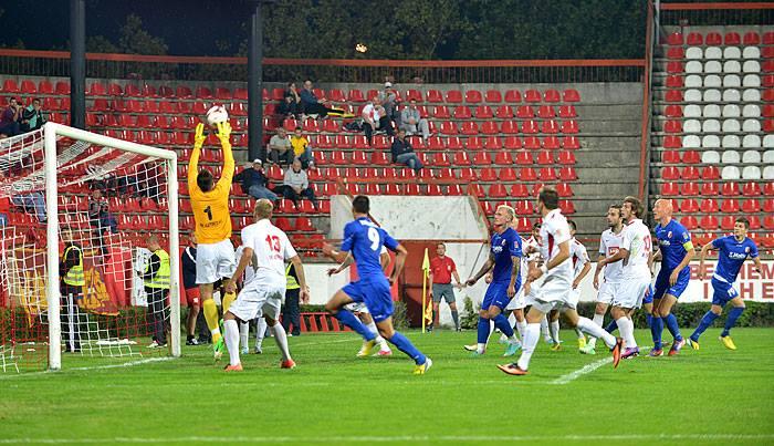 BEDEM Javor je u drugom delu meca stalno napadao Snimio S.Simic